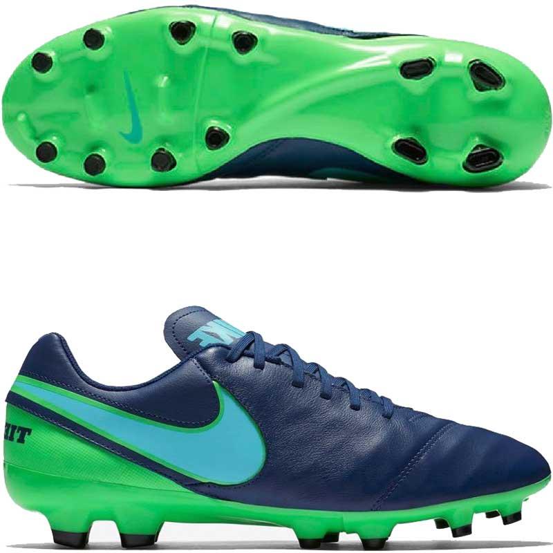 12f5c343 Бутсы Nike Tiempo Genio II Leather FG 819213-443 купить Украина