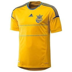 Футболка Adidas FFU 2012 2014 сборной Украины по футболу X11627 86d8cfa0253